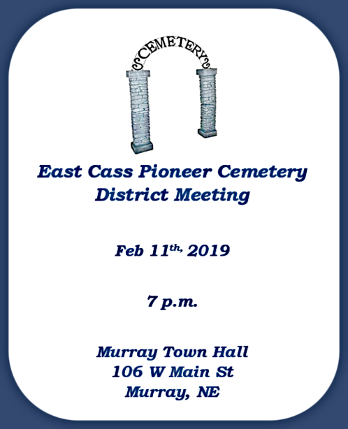 ECC Cemetery Meeting